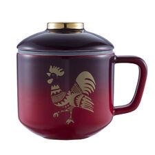 Starbucks Taiwan 2017 Lunar new year rooster ceramic oriental mug Asia Limited