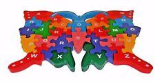 I bambini in legno Puzzle Farfalla Numeri Alfabeto ABC