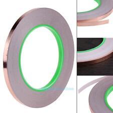 25 Meters 10mm EMI Copper Foil Shielding Tape Double Conductive Self Adhesive S8