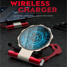 Magic Fast Qi Wireless Charger Pad For iPhone XS/Max/XR/X/8/Plus Galaxy S9 S8
