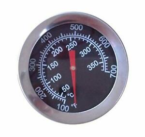 """2"""" Char Griller Replacement Parts Charcoal Smoker Thermometer Temperature Gauge"""