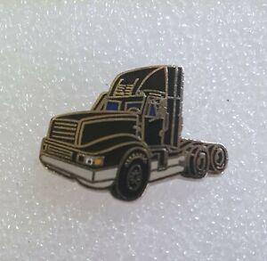 Vintage American Truck Enamel Pin Badge