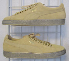 Men's Puma Suede Classic x Chain Sneakers, New Red Yellow Walking Shoes Sz 11