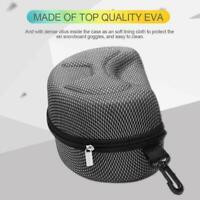 EVA Snow Ski Eyewear Case Skiing Goggles Sunglasses Hard Case A9I0 Carrying Q5A8