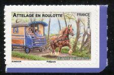 STAMP TIMBRE FRANCE AUTOADHESIF N° 820 ** FAUNE / CHEVAUX DE TRAIT DE NOS REGION