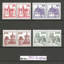 Berlin Mi-Nr.: 587-90 waagerechte Paare sauber postfrischer Satz