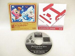 06 ICE CLIMBER Game Sound Museum Famicom Version Audio CD Sound Track Japan