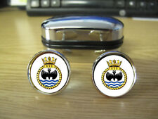 Blurred To Prevent Internet Theft) 813 Naval Air Squadron Cufflinks (Image