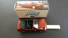 SCHABAK -DEALER ISSUE  FORD ESCORT CABRIOLET  1/43   # RH 10040 - RED-  BOXED