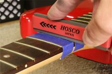 Hosco Compact Fret Crowning File for Jumbo Frets, coarse and fine cutting edges