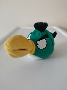 "Angry Birds Green Hal Toucan (NO SOUND) Open Beak Mouth Plush Stuffed Animal 5"""