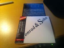 """Conrad Schnitzler """"Conrad & Sohn"""" JAPAN MINI-LP cd 17 tracks CTCD-637"""