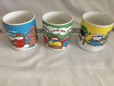 Lot Of 3 Santa Bear Coffee Mugs Dayton Hudson