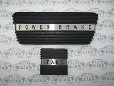 1961-1964 Buick LeSabre Wildcat Riviera Electra Brake & Park Brake Pads  - Black