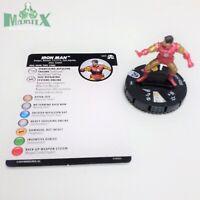 Heroclix Avengers: Black Panther & Illuminati Iron Man #001 Common fig w/card!