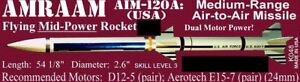 The Launch Pad Plan Pack Series AMRAAM AIM120-A (USA) FREE SHIPPING