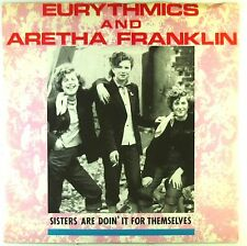 """12"""" MAXI-Eurythmics-Sisters are squalifica 'It For Themselves-c671"""