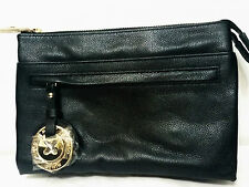 Mimco Leather MIM DUO Couch Hip Across body Hand Bag BNWT Black FREE POST