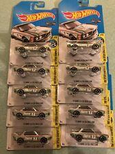 Lot Of 10 Walmart Exclusive Hot Wheels Zamac '73 BMW 3.0 CLS Race car