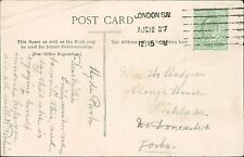 Amelia Hodgson. Clough House, Fishlake, Doncaster 1907 - W Robinson   JD.1006