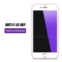 1x Anti Blue-Ray 3D Full Cover Tempered Glass Screen Protector for iPhone 8 Plus