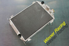 56MM aluminum radiator FOR Ford Model A Chevy 350 V8 swap hot rod AT 1930-1931