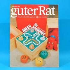 Guter Rat 3-1981 Verlag für die Frau DDR Notarem-Fernglas Trockensträuße Grill C