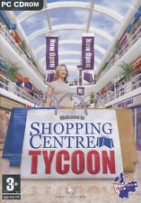 SHOPPING CENTRE TYCOON Center Mall Sim PC Game NEW BOX!