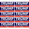 10Pcs Donald Trump for President 2020 Keep America Great Again Bumper Sticker 2h
