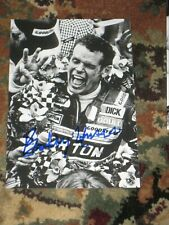 BOBBY UNSER Signed 4x6 Photo NASCAR RACING AUTOGRAPH 1