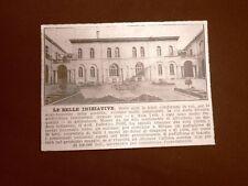 Milano nel 1924 Nuovo padiglione medico per iniziativa del Dottor Federico Polli