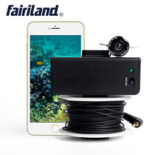 Wifi fish finder wireless underwater camera 3.0 mega HD ice fishing detector app