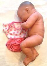 "Berenguer Baby Doll Realistic LifeLike Newborn Bambola Poupee 14"" Smiles"