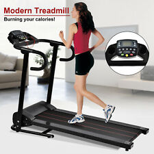 1100W Motorized Electric Treadmill Folding Running Gym Machine Cardio Equipment