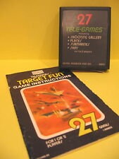 Target Fun Atari 2600 Sears 27 Tele-Games 99802 with Instructions 1977 Used