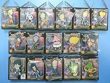 Rare Akira Toriyama Dragon Ball Z Rubber Strap 16 pieces Complete set Japan