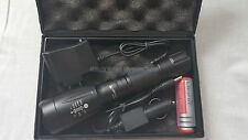 UltraFire Military Grade Tactical Flashlight LED Charger & Battery XT808 Style