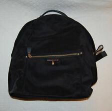Michael Kors Kelsey Large Nylon Backpack Black 30f7g02b7c Retail