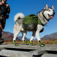 Reflective Dog Hiking Shoes Pet Paws Protector Anti-Skid Dog Boots for Outdoor