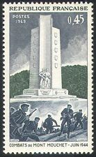 France 1969 WWII/Military/War/Army/Soldiers/Memorial/Monument/Battle 1v (n41777)