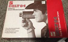 Camera Colt 84 Super 8 Zoom Movie Camera Gaf Vintage
