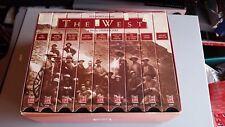 9 VHS Box Set Slipcase Ken Burns Presents The West: A Film by Stephen Ives 1996