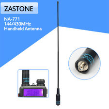 Zastone NA-771 SMA-Female Dual Band Antenna 144/430Mhz For Baofeng UV-5R UV-82