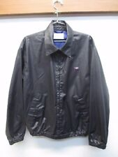 Valentino Sport Men's Rain Coat Windbreaker Jacket Large Black Made In Italy