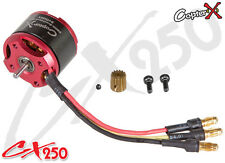 CopterX CX250-10-02 3400KV Outrunner Brushless Motor Trex T-rex 250 Helicopter