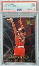 1996 Metal #128 Michael Jordan (PSA 9) (Freshly Graded) Bulls UNC