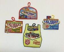 LVAC Scouting For Food Lot Of 4 Patches BSA Boy Scouts Las Vegas Area Council