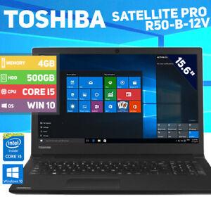 Toshiba Satellite Pro R50-B-12V Laptop - i5 4th Gen - 500GB HDD - Win 10