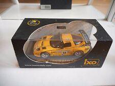 Ixo Chevrolet Corvette C5-R #64 Le Mans 2004 in Yellow on 1:43 in Box