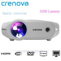 CRENOVA XPE498 projector LED HD 1920 x 1080P 3200 lumens HDMI Projecteur